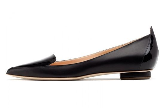 30 Work-Appropriate Shoes That Are Actually Cool #refinery29  http://www.refinery29.com/cool-work-shoes#slide-19  A black flat feels sophisticated, rather than underwhelming, in this streamlined silhouette.Rupert Sanderson Ohio Flat Pointy Ballerina, $755, available at Rupert Sanderson....