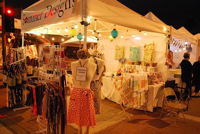 Palos Verdes Street Fair 2009 Great Lighting In This