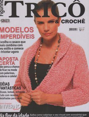 Receita Tricô Fácil   Revista Online FIGURINO TRICÔ E CROCHÊ   Modelos imperdíveis   Escolha o casaco que mais combina   com seu estilo...