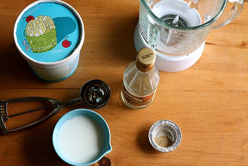 Cardamom Rose Water Milk Shake // joy the baker