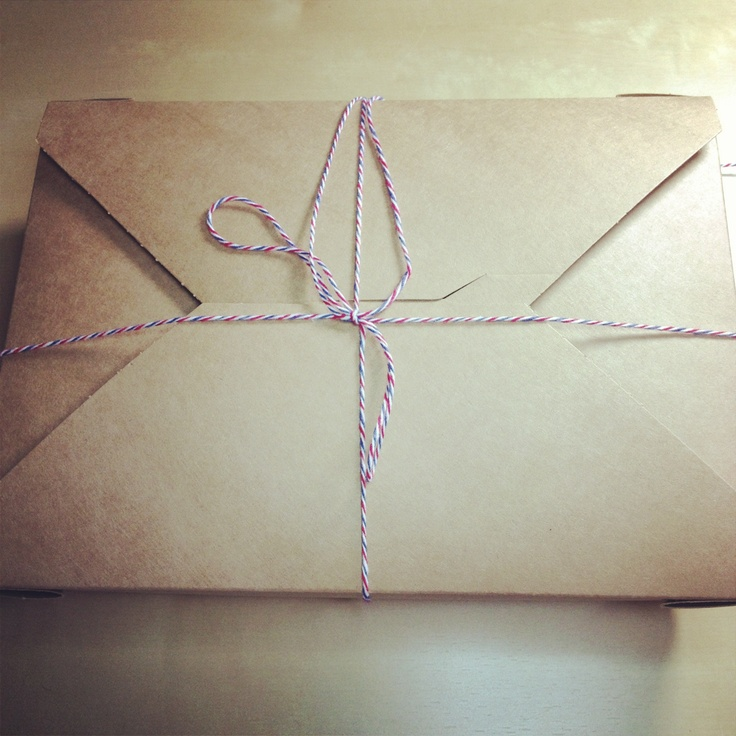 Brown paper packages tied up with string ...... with our favourite things - brownies!!