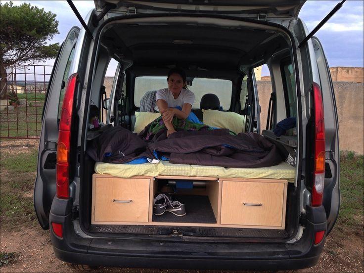 reanulkangoo kampgoo minicamper kangoo renault campervan. Black Bedroom Furniture Sets. Home Design Ideas