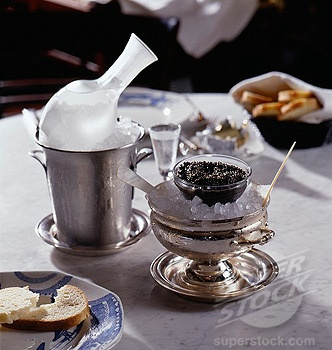 Yummy Vodka and Caviar ~   Russian Thanks~ Spasiba~  спасибо