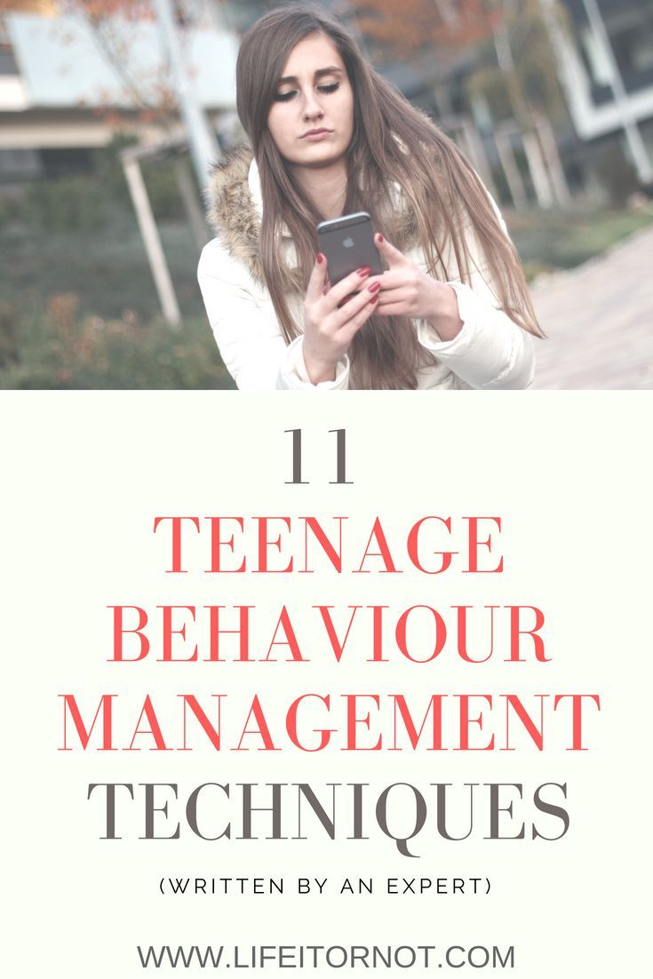 Teenage Behaviour and Attitude Problems: 11 Behaviour Management Techniques