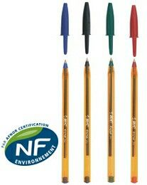 Bic cristal ultra fine pens. Good luck finding them ! Aliso looking for pilot  G4 pens.