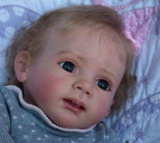 Amazing Reborn Baby Girl Fridolin Now Camille by Karola Wegerich New Release