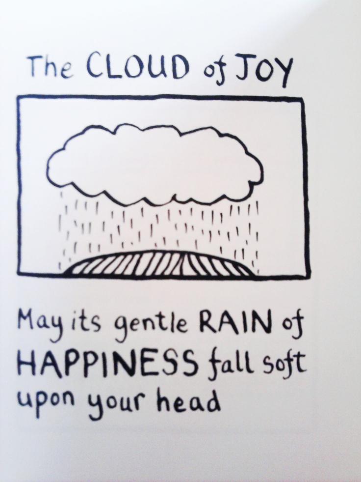 The cloud of joy   Edward Monkton