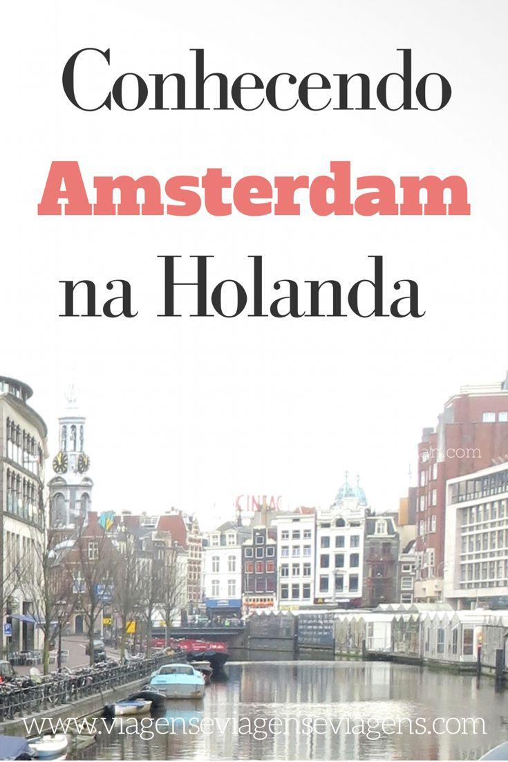 Amsterdam é o portão de entrada de qualquer pessoa na Holanda! E realmente deve ser visitada, pois é uma cidade lindíssima e com várias atrações para conhecer, não importa teu meio de transporte: a pé, de bicicleta, de barco, de tram ou de carro.