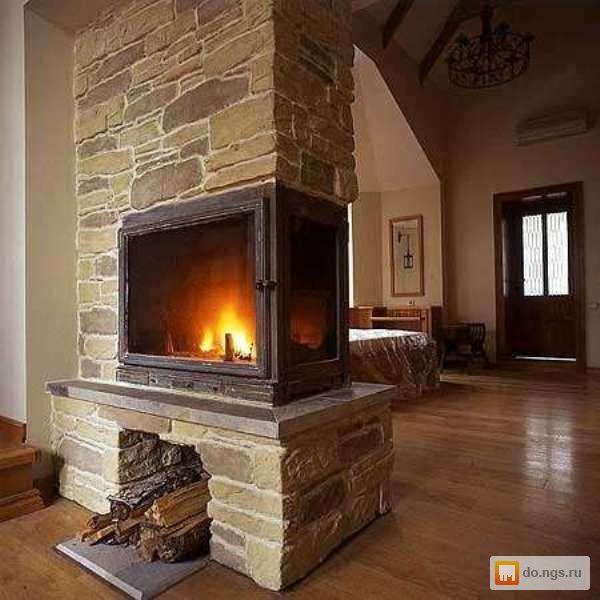 Кладу камины из кирпича и камня, по индивидуальным проектам исключительно для вашего дома. Камины отопительные и интерьерные - любой сложности.