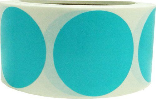 "2"" Inch Round Teal Color Coding Dot Labels - 500 Colored Circle Stickers Per Roll InStockLabels.com http://www.amazon.com/dp/B00JVSWLPY/ref=cm_sw_r_pi_dp_vdUUub0VPNVAD"