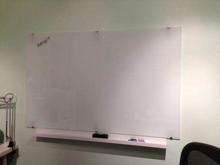 glass white board wall eraser - Glass Dry Erase Board