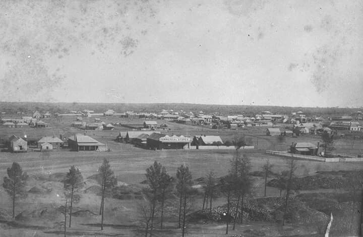 Cobar in New South Wales in 1889.