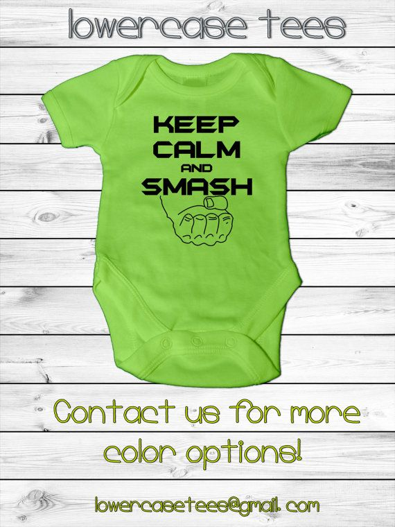 Baby Hulk Inspired Infant Onesie By Lowercasetees