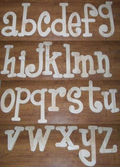 wooden letters - Buscar con Google