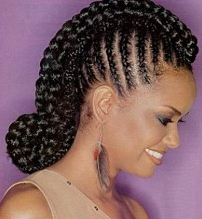 braided cornrow hairstyles black women