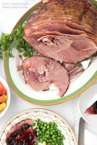 Cherry Chipotle Glazed Bone-In Spiral-Cut Ham