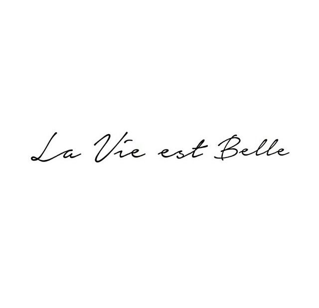 La vie est belle-Life is Beautiful in French