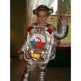 robot halloween costume easy homemade - Homemade Halloween Costume Ideas For Boys