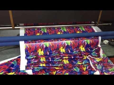 XULI Direct sublimation flag banner printer with 4pcs Xaar 1201 printhead