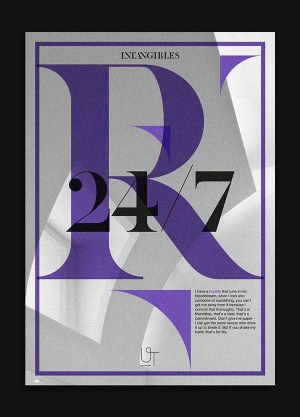 Intangibles - Custom font