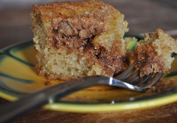 Cinnamon-Streusel Coffee Cake and Life Married to a Stuntman ...