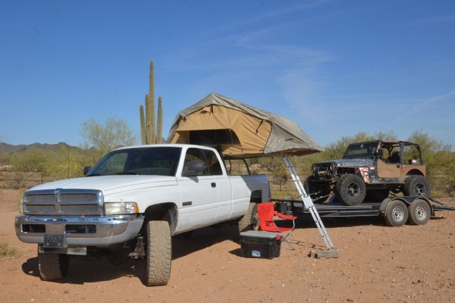 The ARB Rooftop Tent Series III Simpson