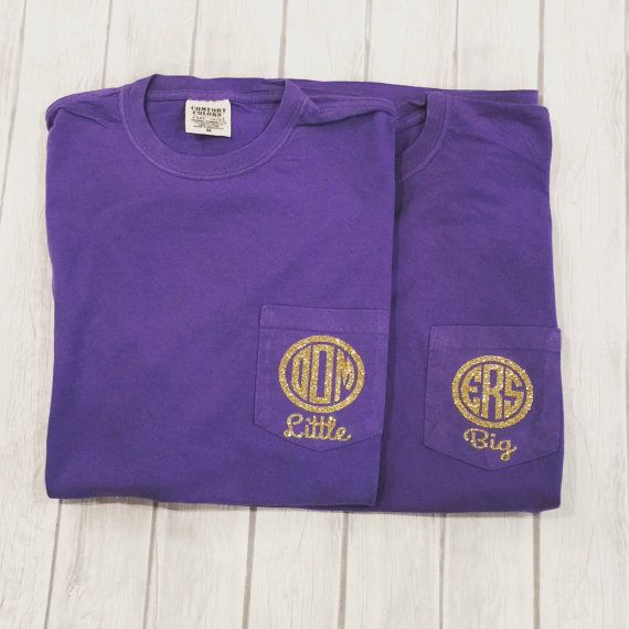 Sorority Big Little T-shirts Greek Big by SimplySouthernChics