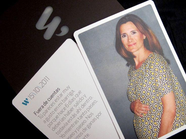 Fotos de mi primer embarazo en una Wemorybox | Blog www.micasaencualquierparte.com