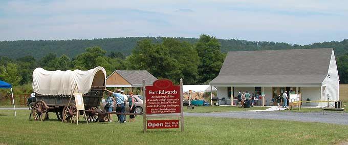 Hampshire County, West Virginia, Fort Edwards, Capon Bridge, West Virginia.