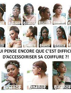 bykinanoe | Tutos et idées coiffure Boucles d'oreilles & Accessoires pour cheveux en wax : noeud, headband Créations Kinanoé