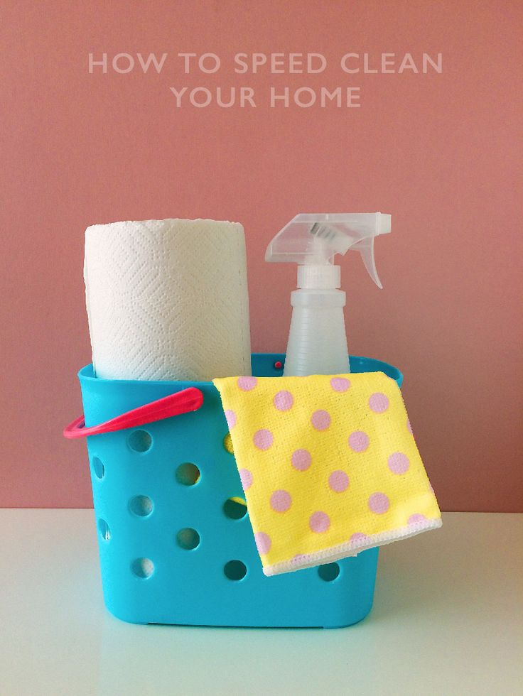 Unexpected guests? Tips on how to speed clean your home