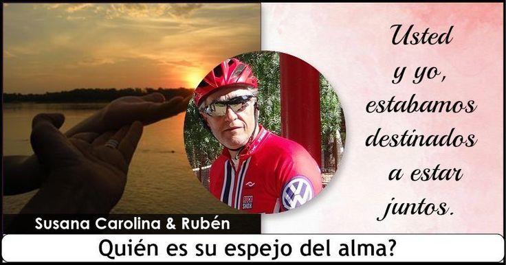 <b>Susana Carolina</b>, ha encontrado su espejo del alma en <b>Rubén</b>. Ambos se llevan bien y sus corazones arden de la misma manera. Los dos son exactamente iguales y representan los mejores rasgos en sí mismos. Ambos estaban destinados a estar juntos , y siempre lo estarán.  </br> </br> Comparte este post para mostrar al mundo que tu espejo del alma es <b>Rubén</b> y etiqueta, para mostrarles lo que usted ha descubierto también.