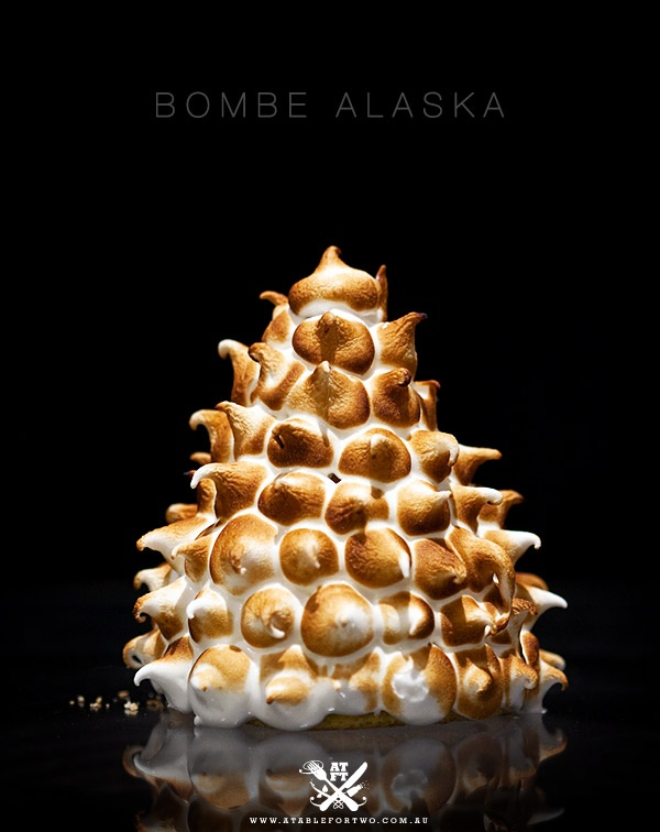 BOMBE ALASKA   MERINGUES   Pinterest