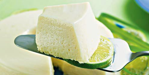 Musse de erva-cidreira e limão