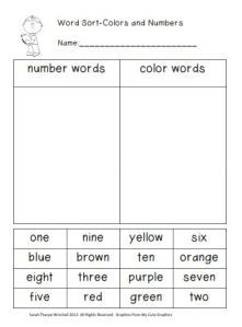 Word Sorts Freebies and The Organized Classroom Blog | Teaching Resources for the Classroom