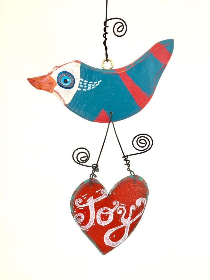 Atelier de Joie Flying bird & heart