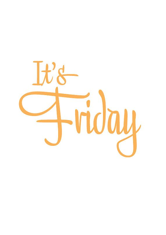 It's Friday! The 13th.!!! Have a wonderfully lucky day today.!!! Already the 2nd one this year.!