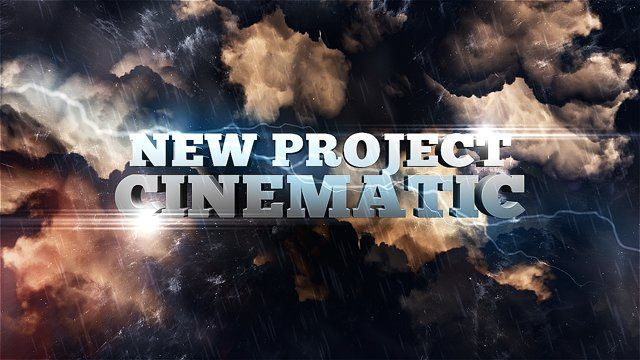 Project available here: http://videohive.net/item/the-storm-cinematic-opener/7704832  This project powerful and cinematic, you can use it this project for any kind of your video production. from Movie Trailer or Title Sequence of your video. or even you can use it for your video promotion.