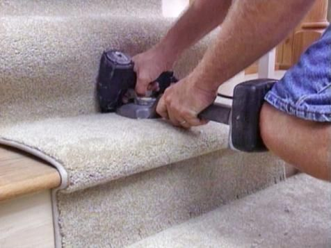 How To Install A Carpet Runner On Stairs