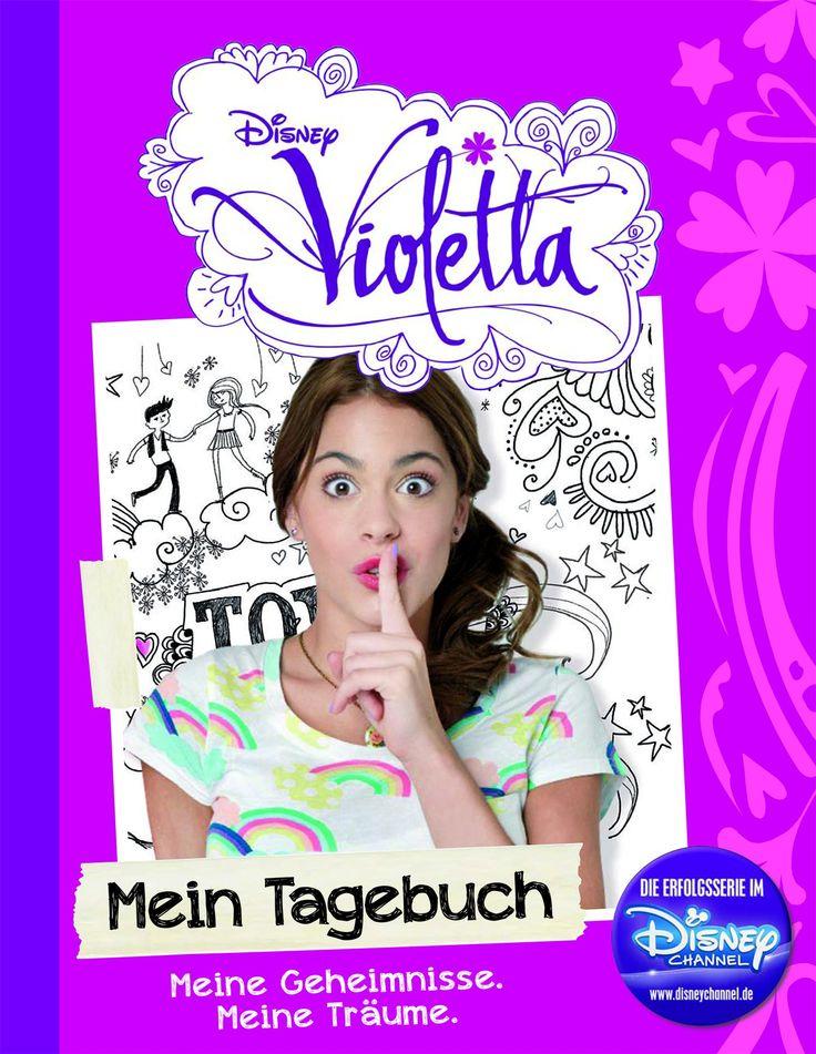 Disney Violetta: Mein Tagebuch: Meine Geheimnisse. Meine Träume.: Amazon.de: Parragon: Bücher