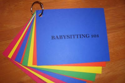 Busy Beehives...: Babysitting Kits