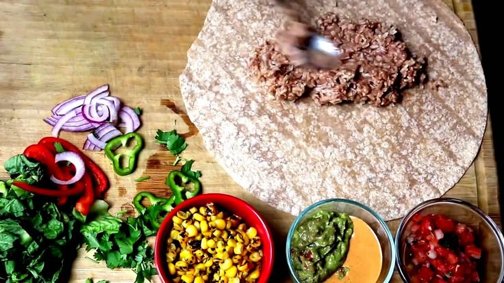 Better Than Chipotle Vegan Burrito - Healthy Breakfast Vegan Recipe
