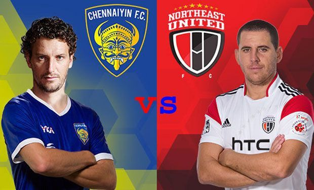 Chennaiyin FC vs NorthEast United FC