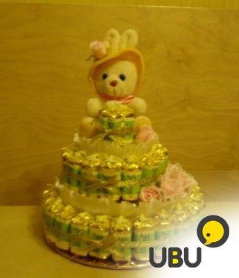 Свадебные деревья, ручные букеты из конфет и игрушек фото 4