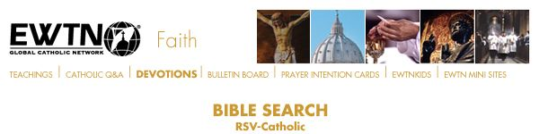Bible Search RSV-Catholic