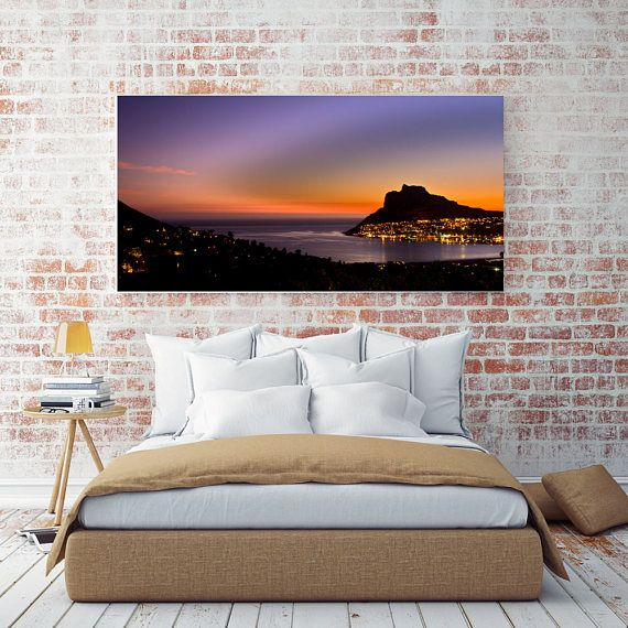 Printable Wall Art - Sunset over the Sentinel, South Africa,