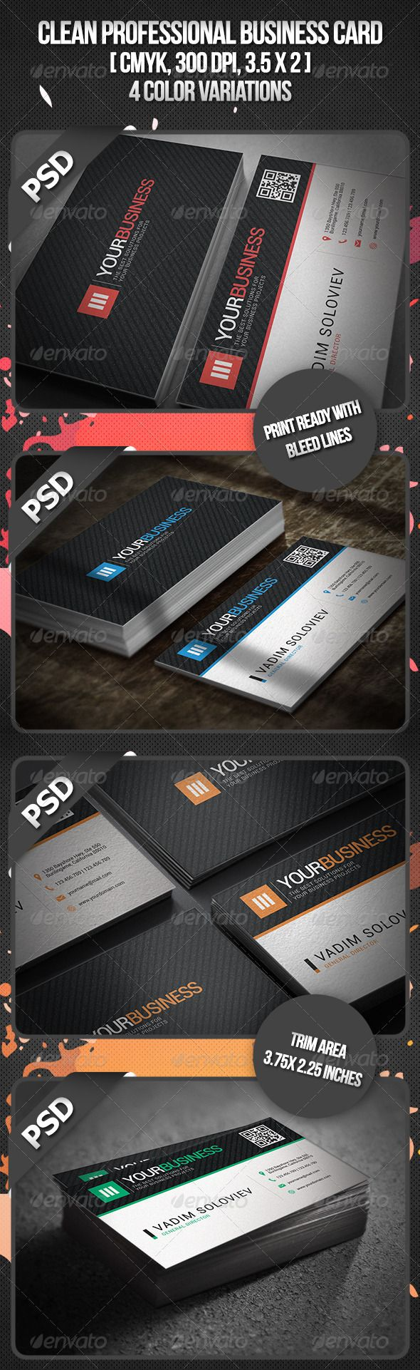 The 25 best professional business cards ideas on pinterest clean professional business card magicingreecefo Images