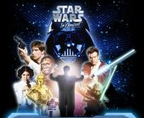 Wichita KS -Star Wars: In Concert, previously called Star Wars: A Musical Journey, is a concert featuring a symphony orchestra & choir, along with footage from the Star Wars films displayed on a 3-story LED high-definition screen displaying movie footage sync...