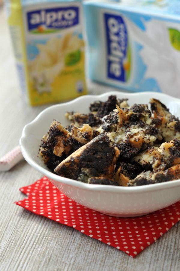 Tejmentes mákos guba recept. Laktózérzékenyeknek és tejallergiásoknak!
