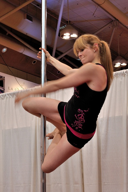 Topic flirty girl fitness pole matchless message